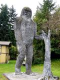 Silver Lake Bigfoot statue