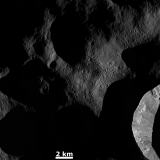 Dawn on Vesta