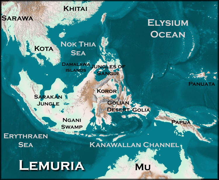 Lemuria:the continent and civilization before Atlantis