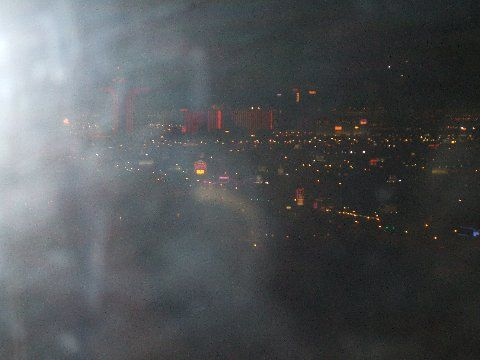 Las Vegas Hotel window ghost