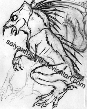 El Chupacabra Concept Art 1