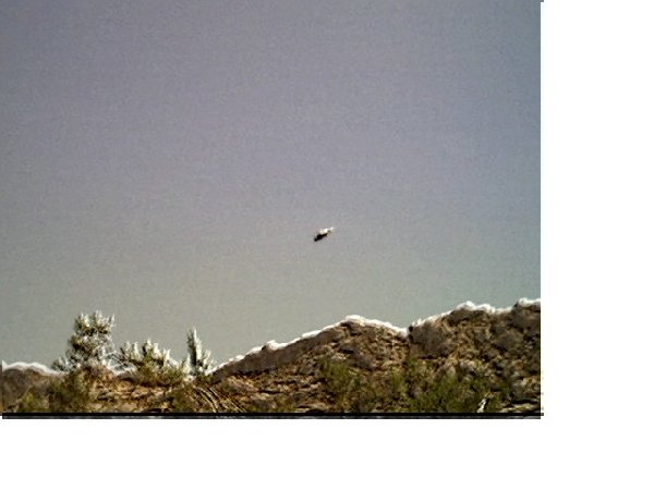 UFO in Joshua Tree National Park, Ca. Taken 9/15/05