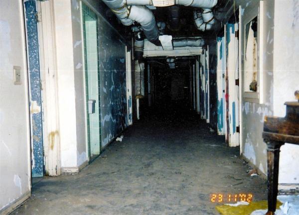 Abandoned Hospital - Hallway 2