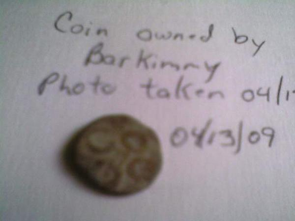 1700 yr old coin back