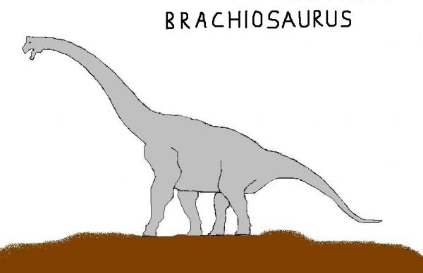Brachiosaurus MSpaint