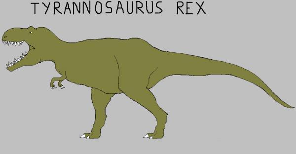 Tyrannosaurus Rex MsPaint