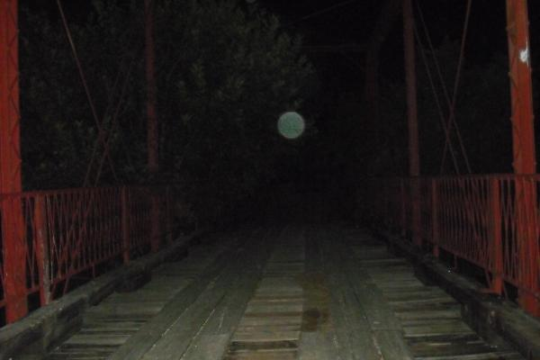 Orbs at Goatman's Bridge image 1
