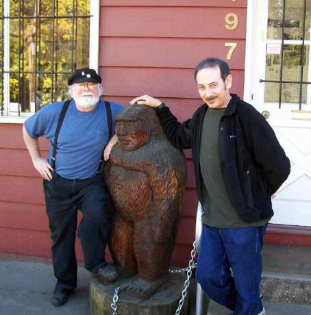 Paul Reubens at the Bigfoot Discovery Museum