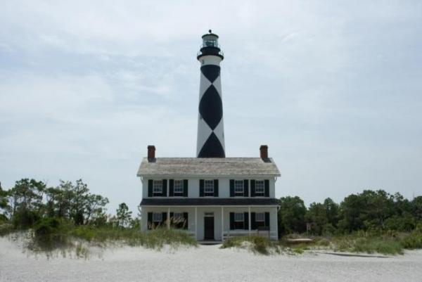 CAPE LOOKOUT LIGHTHOUSE...Whose there?