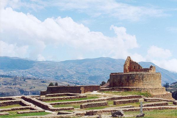 Incan ruins in Ecuador