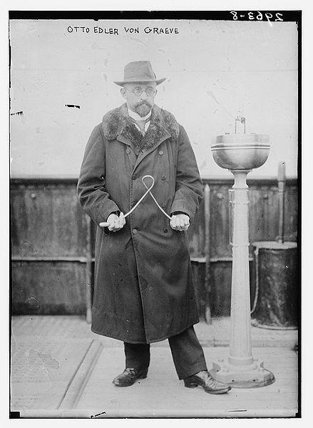 Otto Edler von Graeve dowsing