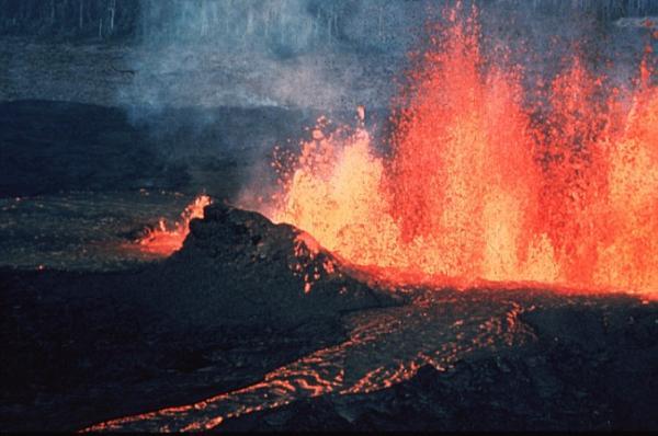 Erupting Volcano (2)