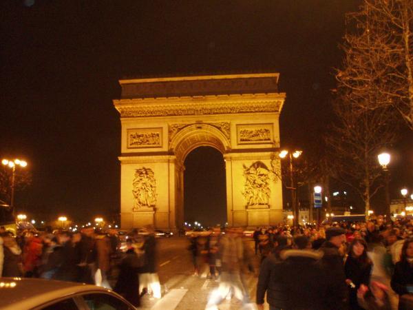 L'Arc de Triomphe (Triumph Arch)