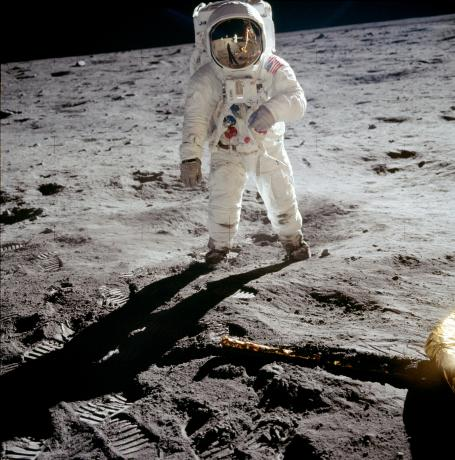 Apollo 11 - Buzz Aldrin on the moon