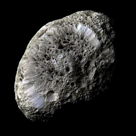Saturn's Hyperion: A Moon With Odd Craters