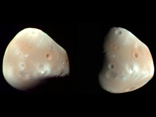 Mars' Moon Deimos