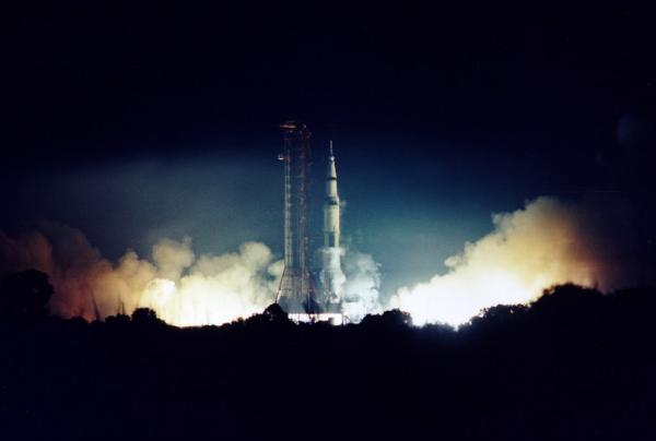 Apollo 17 Lifts Off