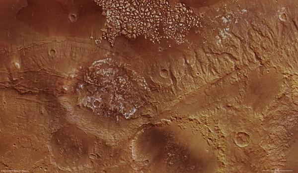 Magellan Crater on Mars