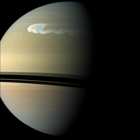 Spotting Saturn's Northern Storm