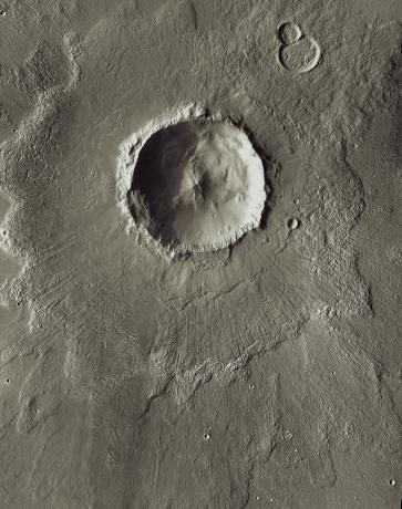 Mars - Bacolor Crater