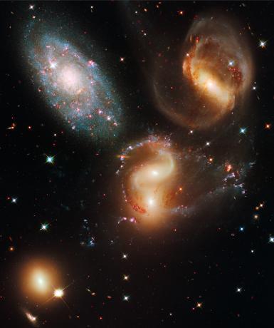 Hubble Image - Stephan's Quintet