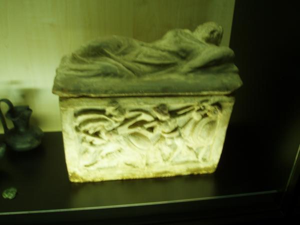 Etruscian stone box