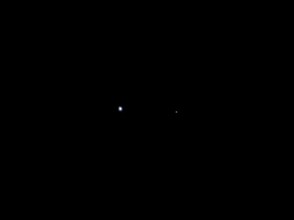 Jupiter-Bound Space Probe Captures Earth And Moon