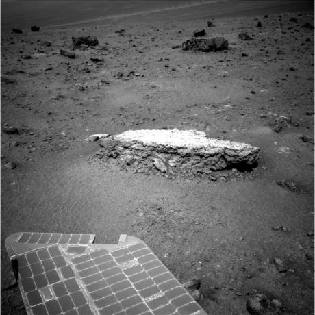 Mars Exploration Rover Opportunity - Approaching 'Tisdale 2' Rock on Rim of Endeavour Crater