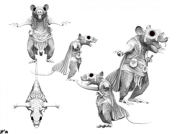 Rat Character