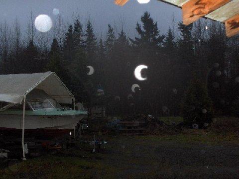 Orbs Half Moon