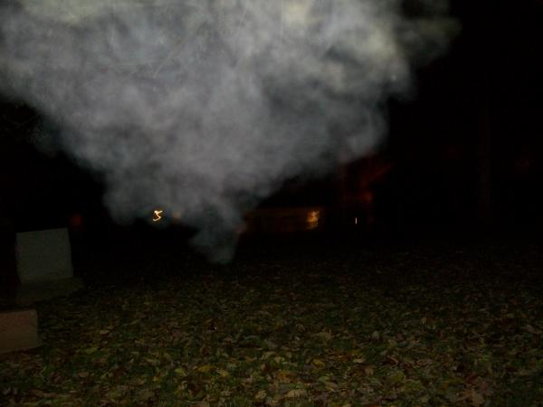 Ghost in the graveyard?