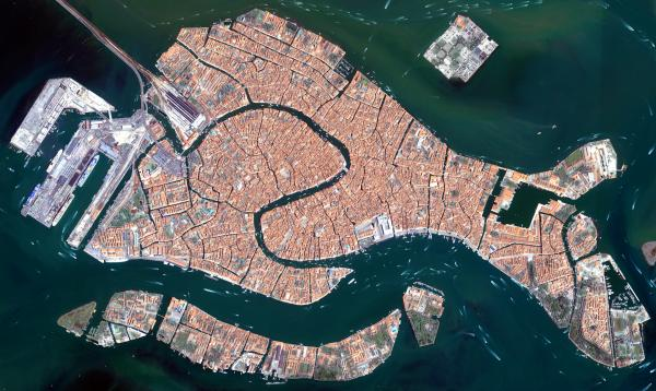Earth from Space: Floating city