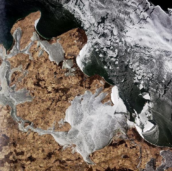 Earth from Space: Rügen on the rocks
