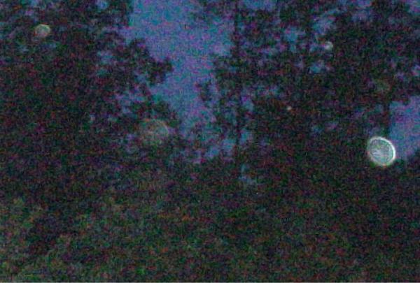 Ghost of delinda at dark hollow cemetery
