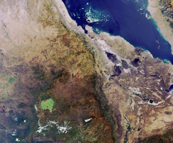 Earth from Space: Cradle of humankind
