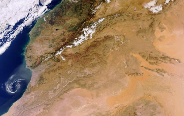 Earth from Space: Sahara�s end