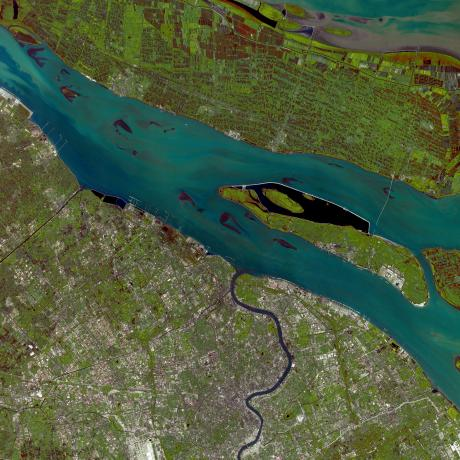 Earth from Space: Shanghai waters