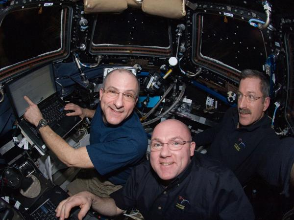 International Space Station - Expedition 30 in the Cupola