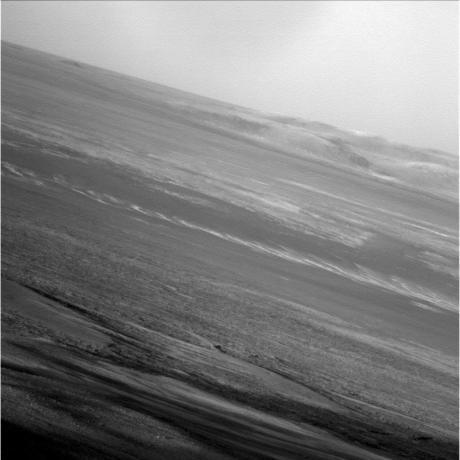 Mars Exploration Rovers - Opportunity's Late Afternoon View of Mars