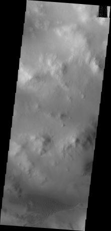 Mars Odyssey - Lyot Crater Dunes