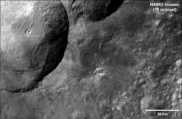 Vesta - Dark Materials at the Snowman