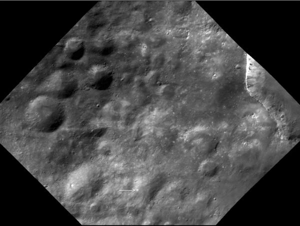 Vesta - Bright Spots Near Marcia