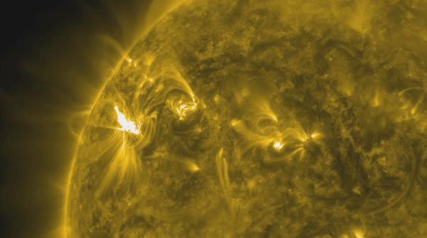 X1 Solar Flare Eruption on March 5, 2012