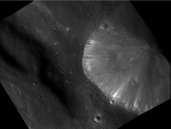 Vesta - Extremely Bright Area