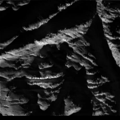 Cassini - Enceladus Terrain (Raw image)