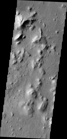 Mars Odyssey - Nepenthes Mensae