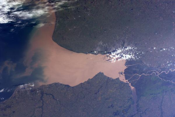International Space Station - Rio de la Plata