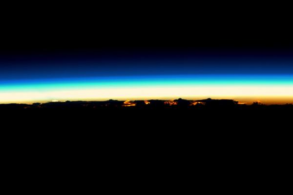 International Space Station - Nightfall