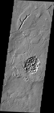 Mars Odyssey - Avernus Topography