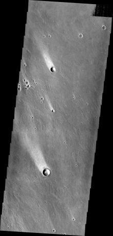 Mars Odyssey - Windstreaks